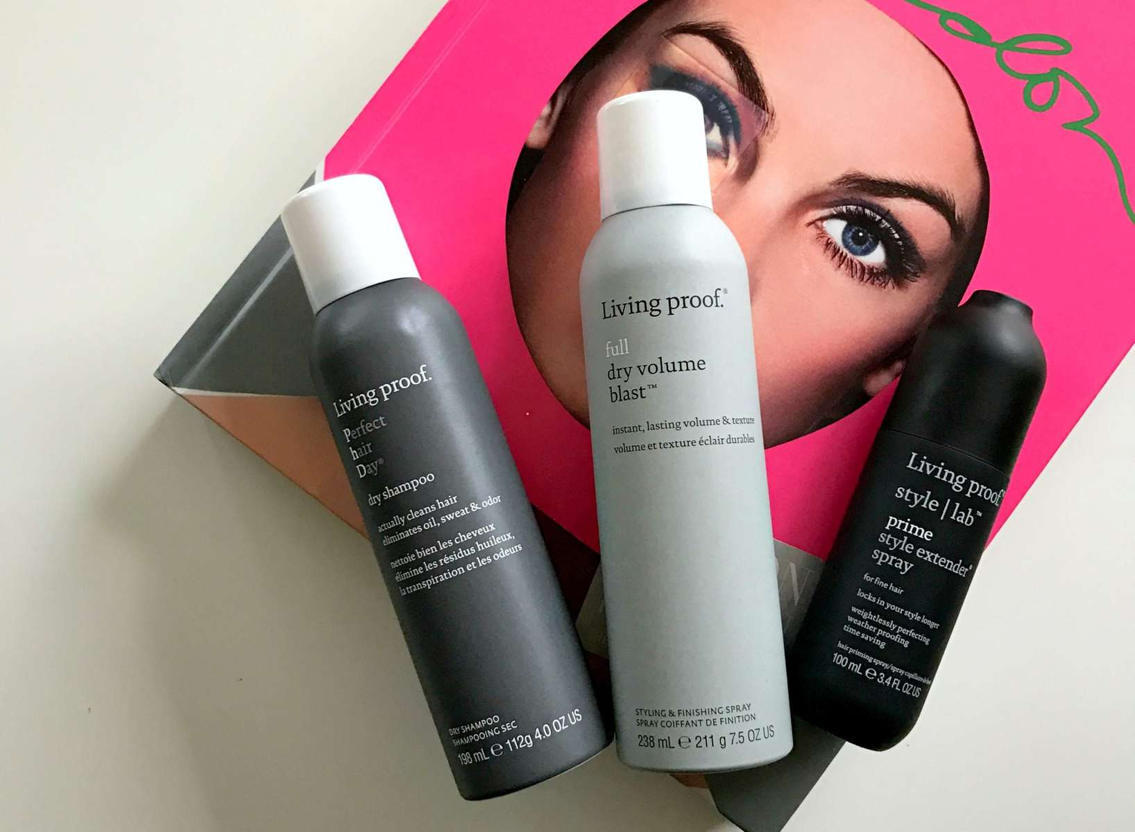 Wardrobe Oxygen - Living proof haircare review