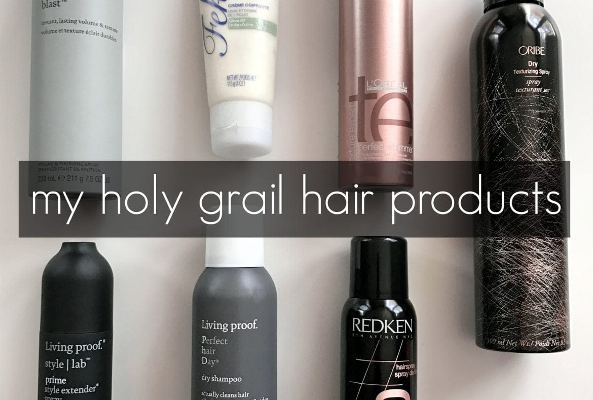 My Favorite Hair Products and Tools