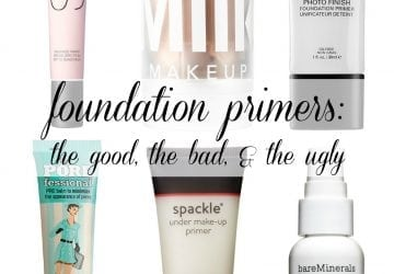Over 40 Beauty Review: Foundation Primers