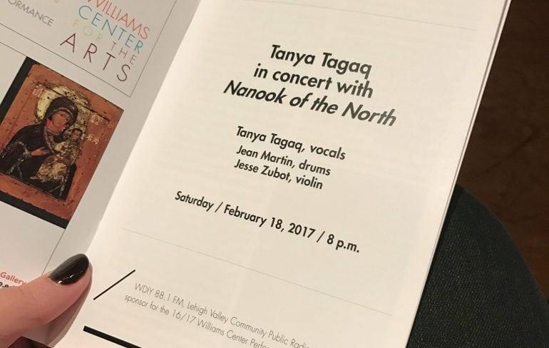 tanya tagaq nanook of the north 2017