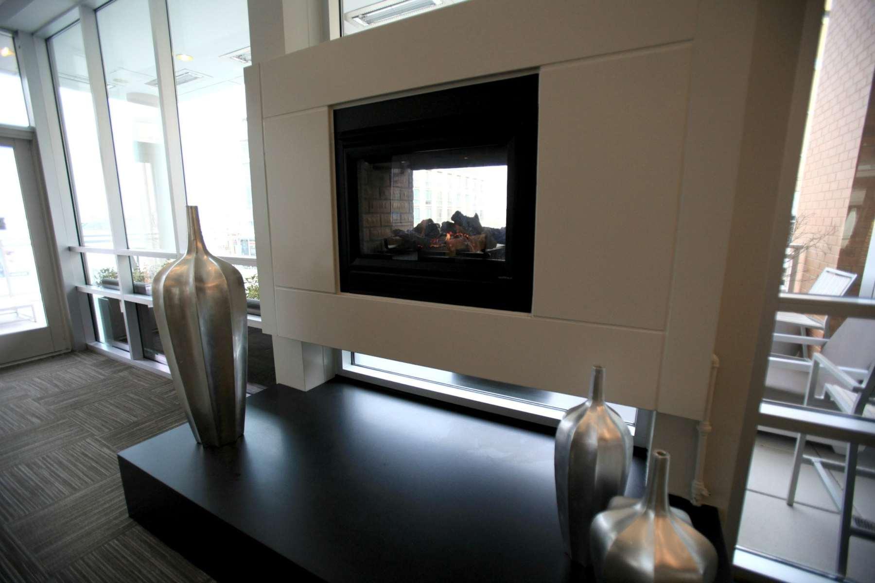 wardrobe oxygen ac hotel lobby fireplace