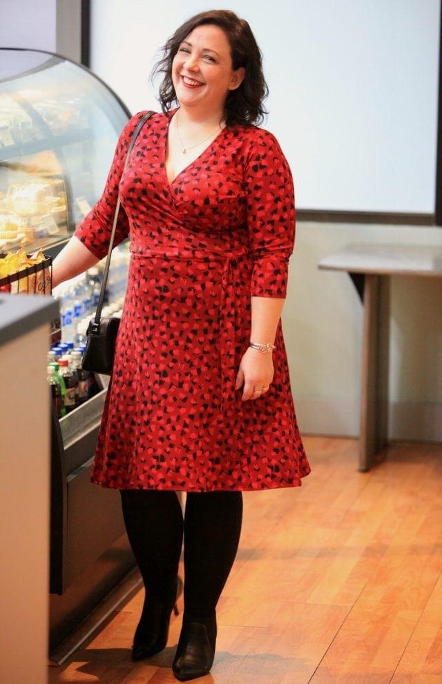 Wardrobe Oxygen in Leota dress from Gwynnie Bee