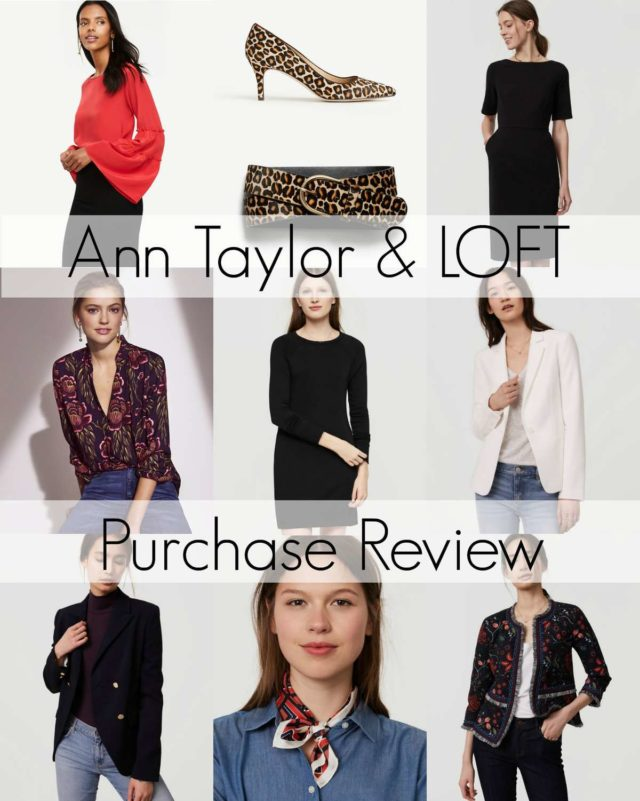 Ann Taylor and LOFT purchase review by Wardrobe Oxygen