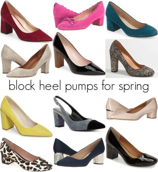 85c2f76cedfa Wearable Spring Trend: The Block Heel | Wardrobe Oxygen