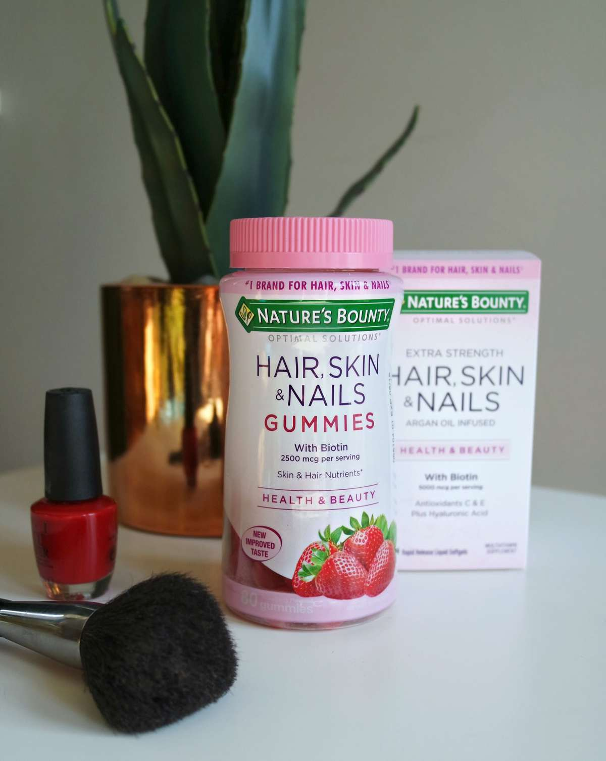 Nature's Bounty Gummies for Hair and Nails Review - Wardrobe Oxygen (sponsored)
