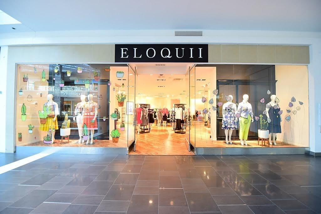ELOQUII pop up store in The Fashion Centre at Pentagon City, pho by Joy Asico