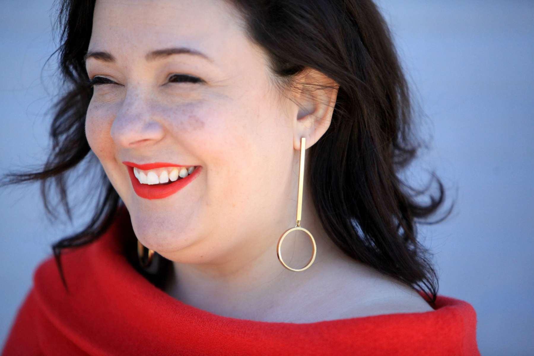 jennybird earrings on wardrobe oxygen