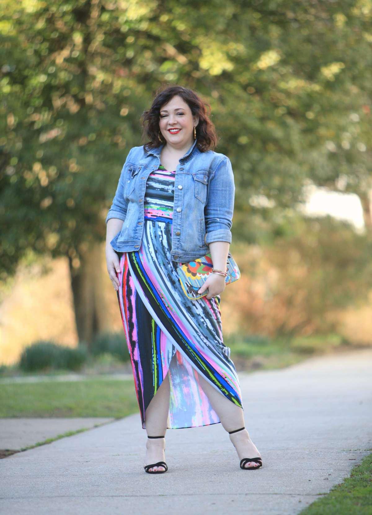 wardrobe oxygen over 40 fashion blog featuring gwynnie bee