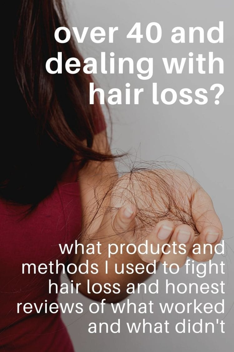 how to fight hair loss over 40 products tips