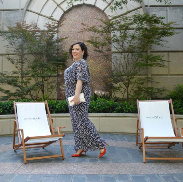 rewardstyle conference 20176 what i wore first night pool party