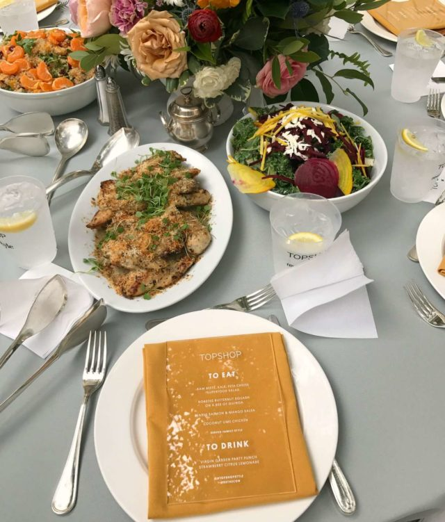 topshop garden lunch rewardstyle conference 2017