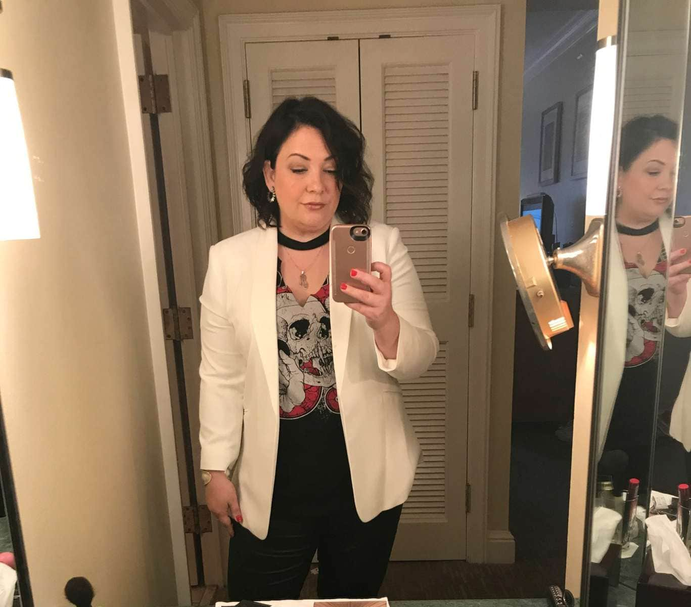 what i wore to the rewardstyle conference in 2017