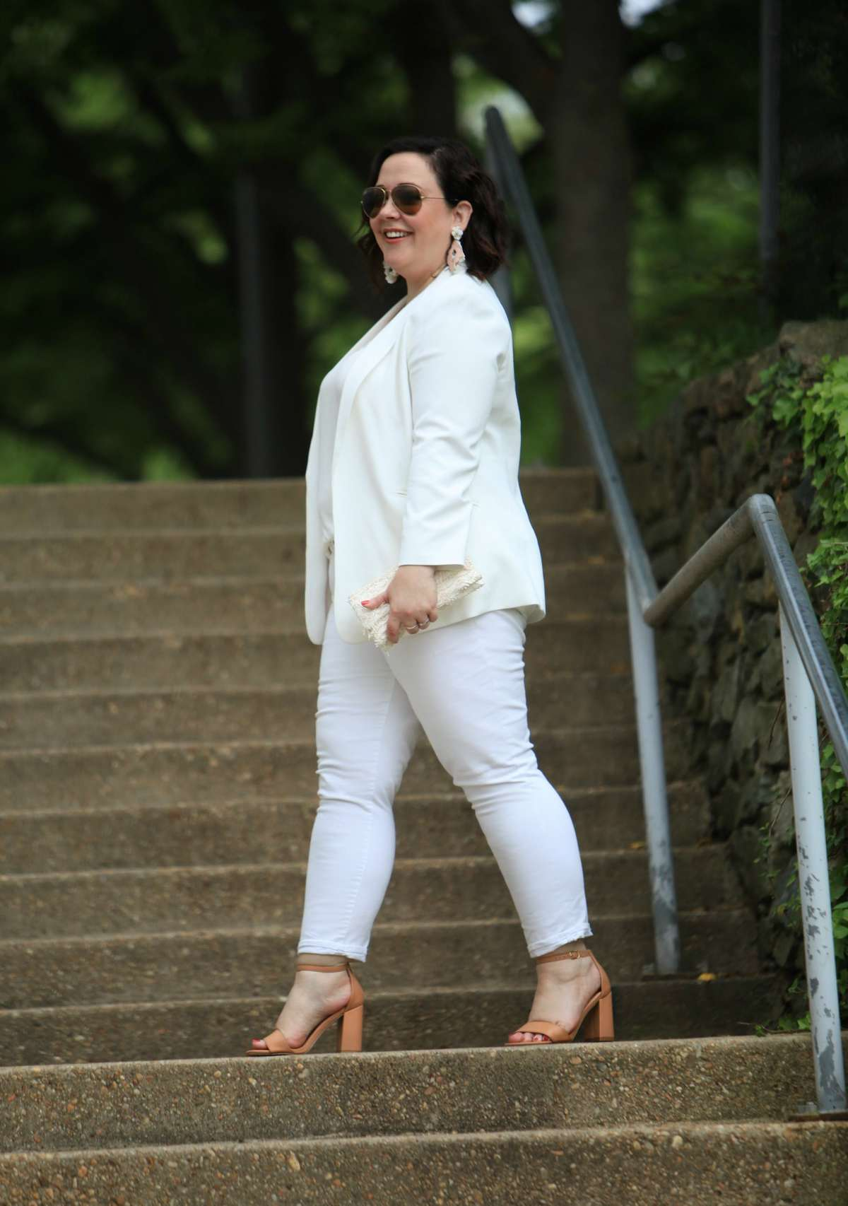 What I Wore Whiter Shade Of Pale Wardrobe Oxygen
