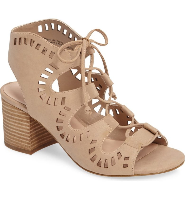 BP Decker Wide Width lace up sandal at Nordstrom