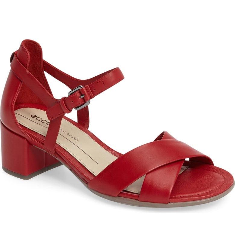 ECCO Shape Block Heel Sandal