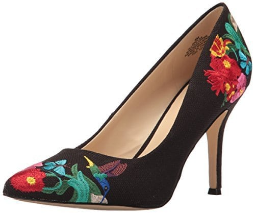 Nine West Flax Embroidered