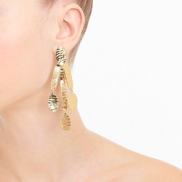 J. Crew Arty Sculpture Earrings