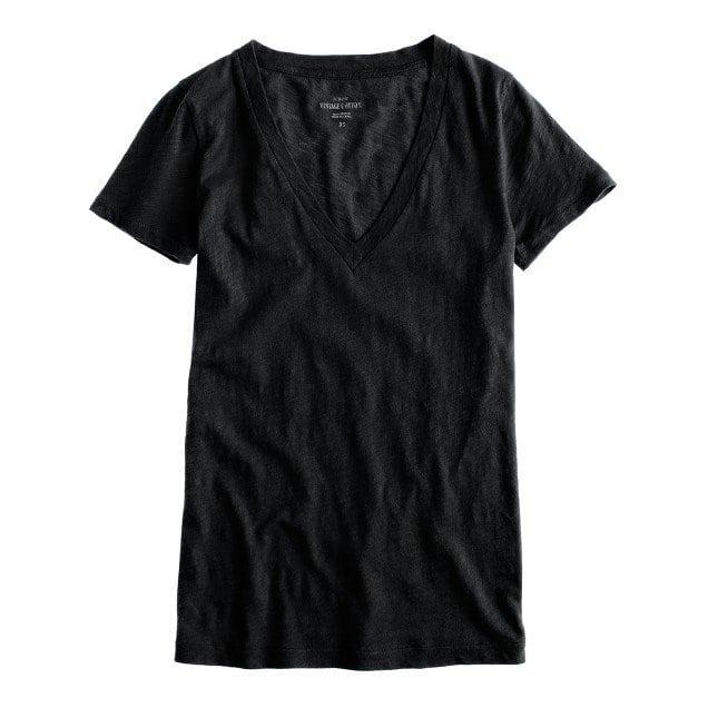 J. Crew Vintage V-Neck T-Shirt