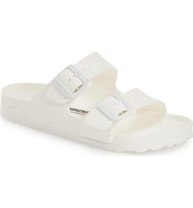 birkenstock essentials arizona white