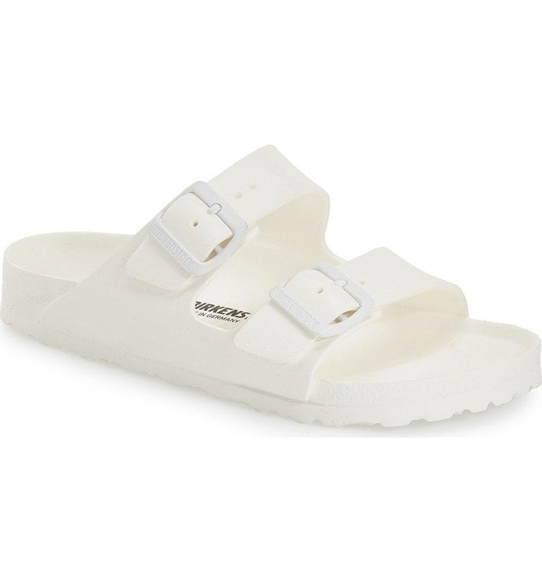 birkenstock essentials arizona white