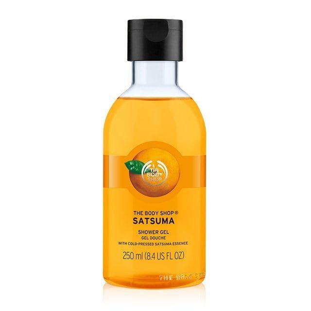 body shop satsuma shower gel