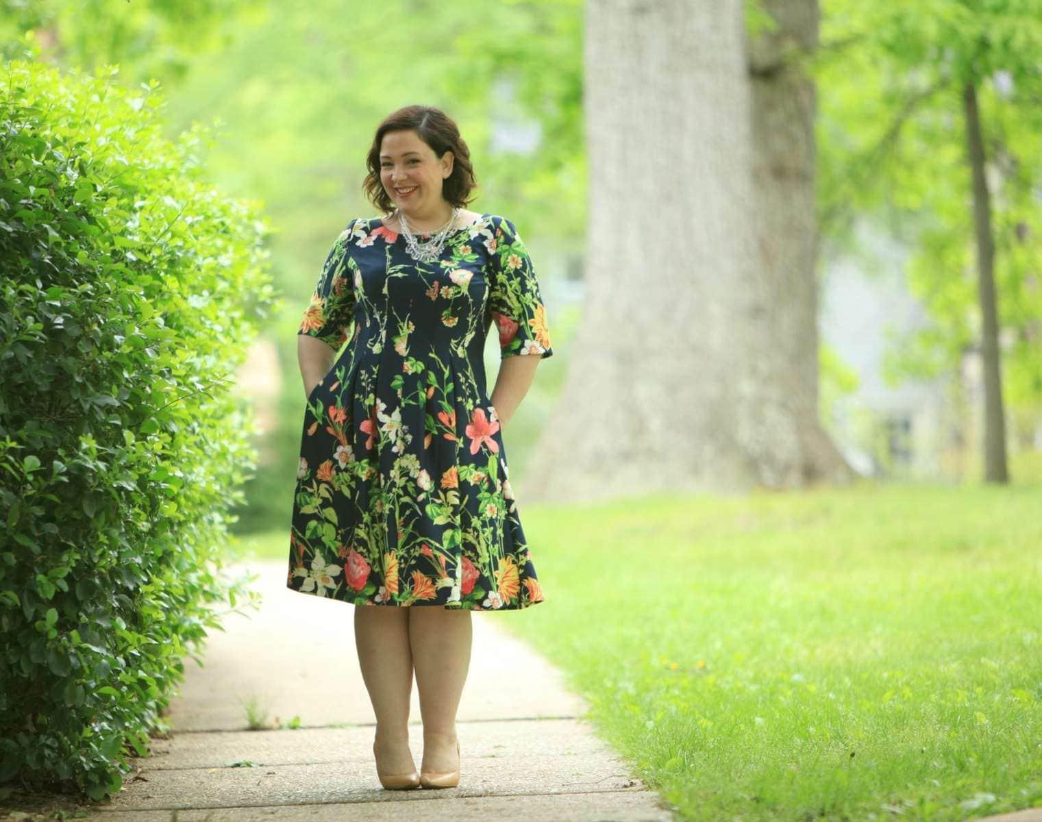 gabby skye floral dress