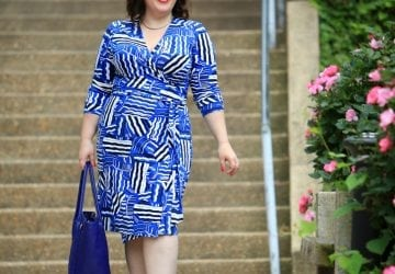 What I Wore: Bold Blue