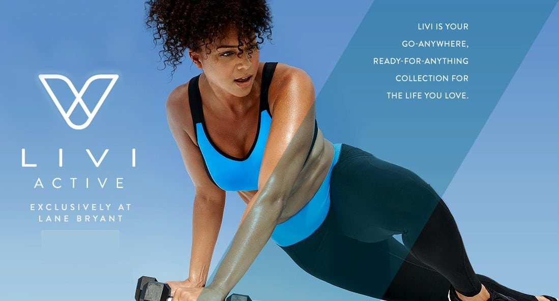 livi active plus size activewear