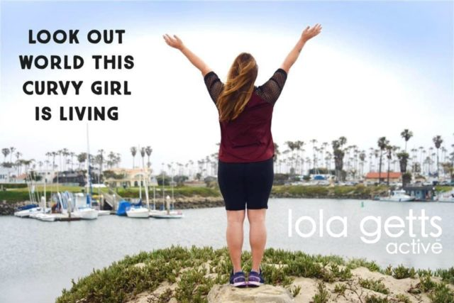 lola getts active plus size activewear