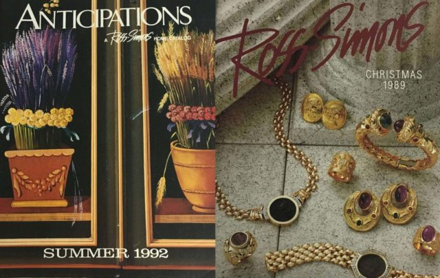 ross-simons catalog 1992 1989 Christmas