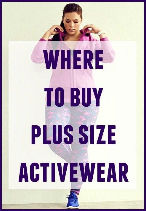 where to buy plus size activewear - wardrobe oxygen