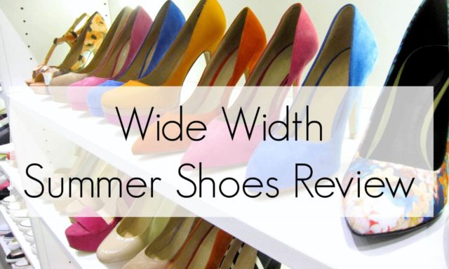 Wide Width Summer Shoes Review - Wardrobe Oxygen