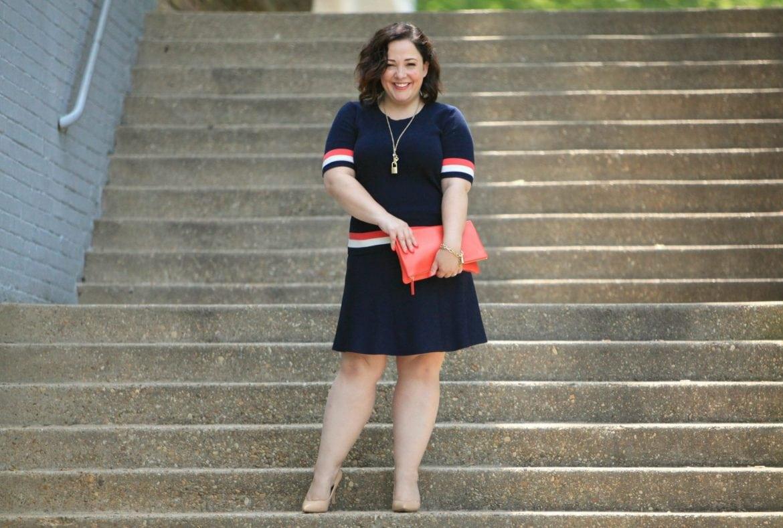 cabi hampton shell and dame skirt on wardrobe oxygen