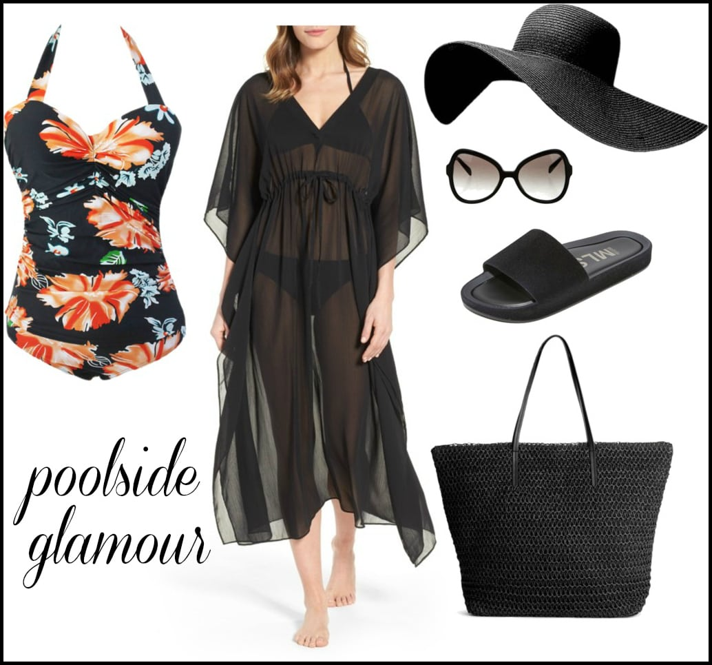 how to style a retro swimsuit