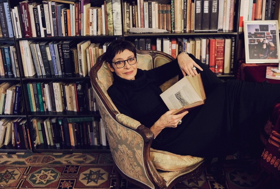 Joan Juliet Buck by Collin Hughes for the New York Times