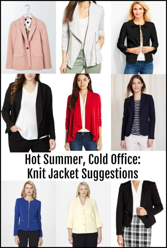 what to wear in the summer when you work in a cold office