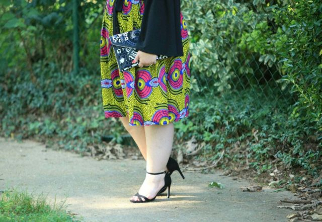 Ankara skirt on Wardrobe Oxygen