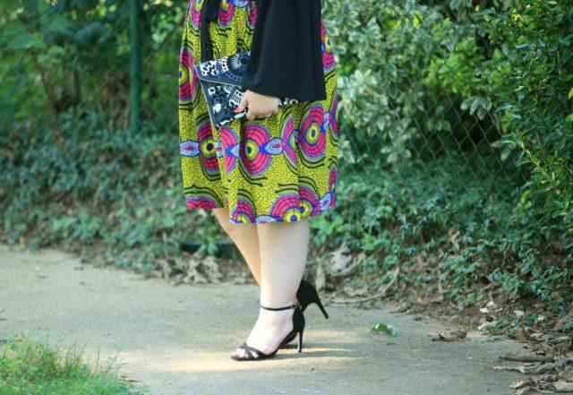 Ankara skirt on Wardrobe Oxygen