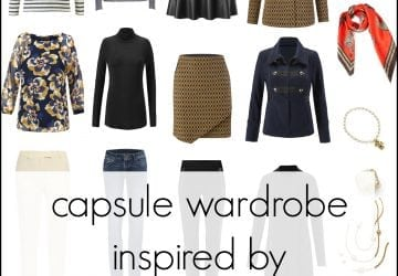 Fall Capsule Wardrobe Inspired by cabi