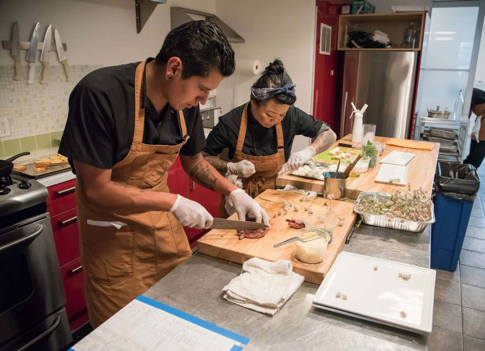 chefs at feastly for cabi conversations