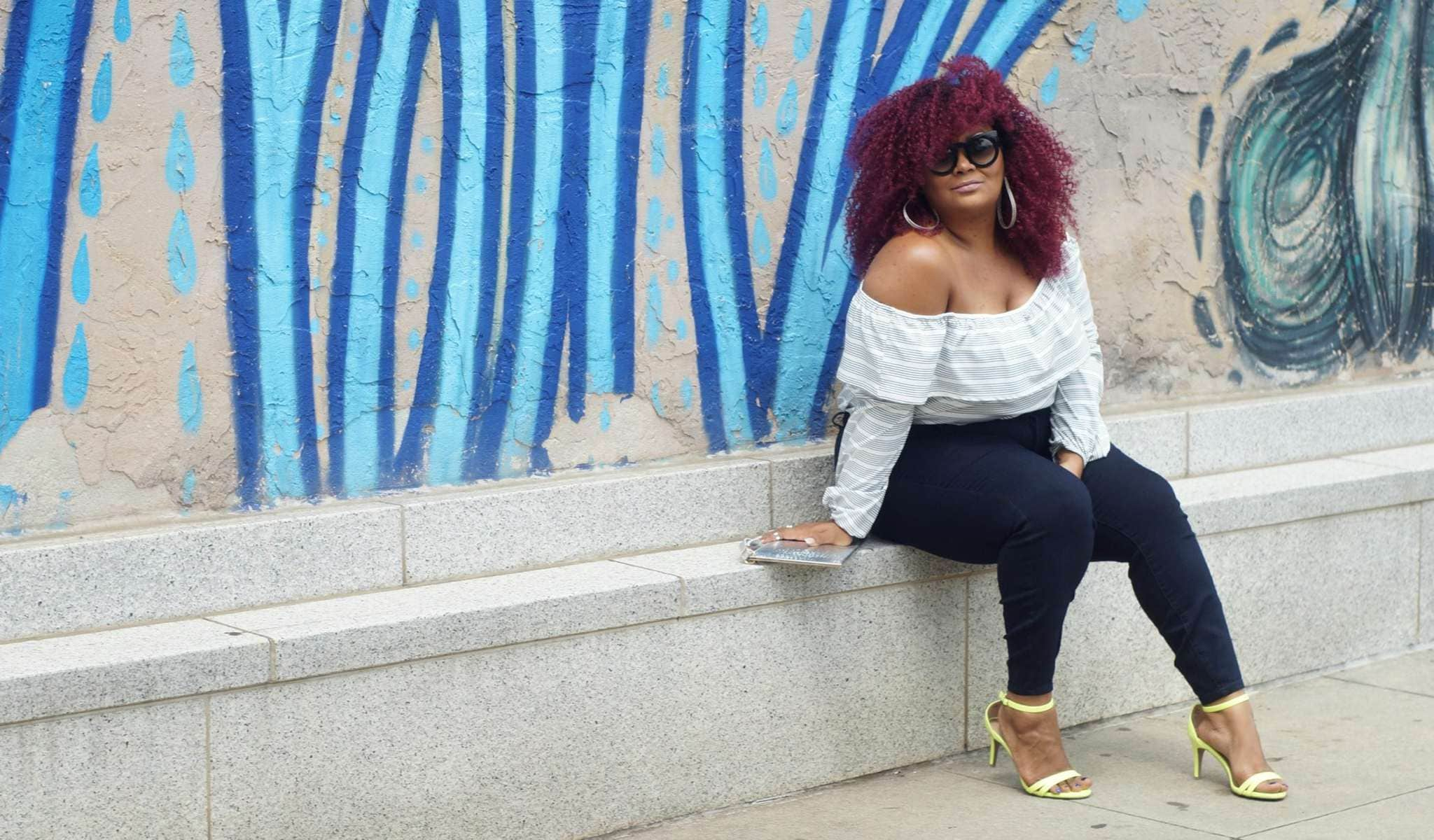 Marie Denee of The Curvy Fashionista