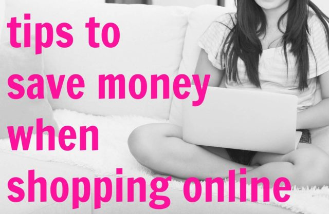 Tried and true tips for saving money when shopping online from a fashion and shopping blogger and previous personal shopper.