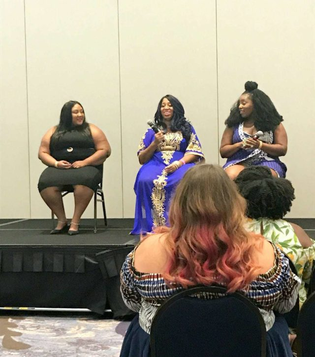 TCFStyle Expo Panel: Body Politics Finding OUR Identity and Representation Discussion presented by Plus Zone