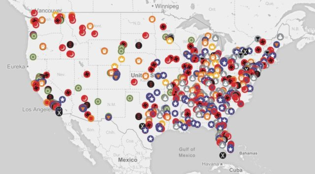 Southern Poverty Law Center Hatemap