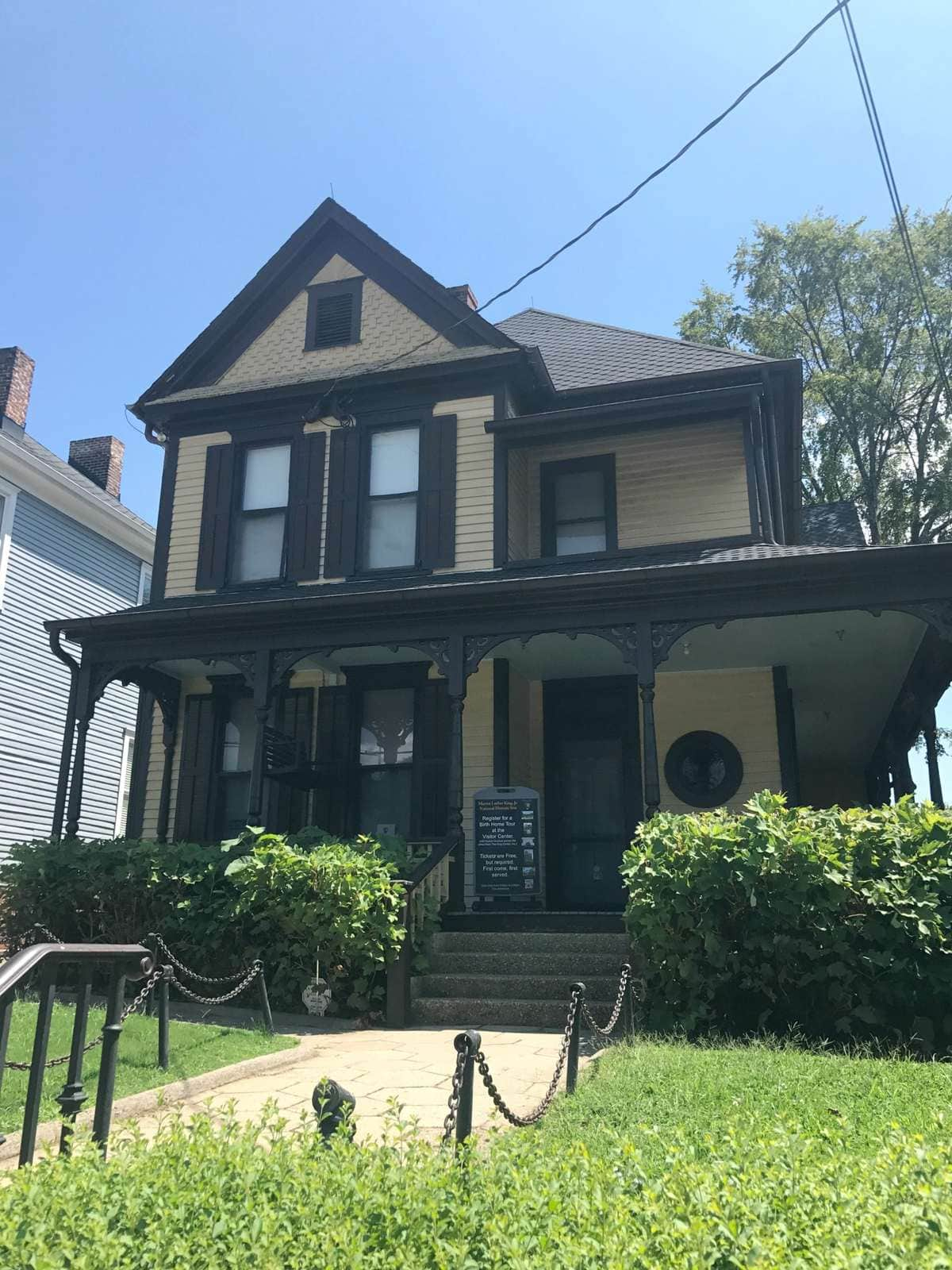 Martin Luther King Jr Birth House