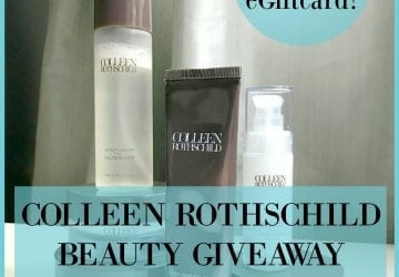 My Favorite Skincare: Colleen Rothschild Giveaway [Sponsored]