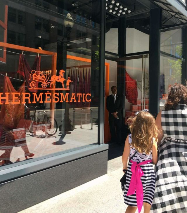 Hermesmatic pop up shop in CityCenter DC - my experience