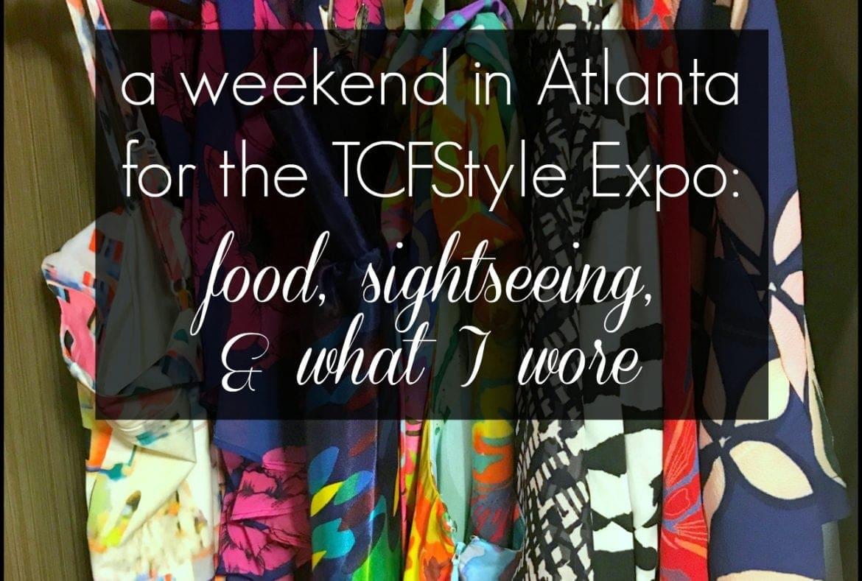 tcfstyle expo recap 2017 by wardrobe oxygen