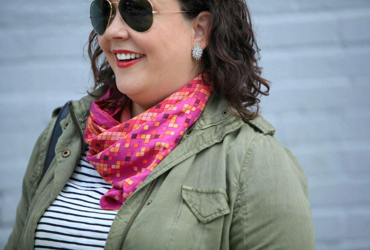 wardrobe oxygen hermes scarf