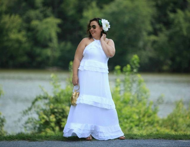 what i wore to diner en blanc DC